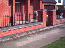 Wrought Iron Railings Derbyshire